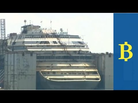 Costa Concordia: 100 million euro demolition operation about to start