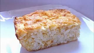 Как сделать запеканку из кабачка с рисом и сыром