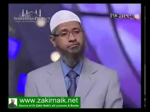 Zakir Naik Q&A  - Why Abu Bakar Beat the Wife of Prophet Muhammad Ayesha)