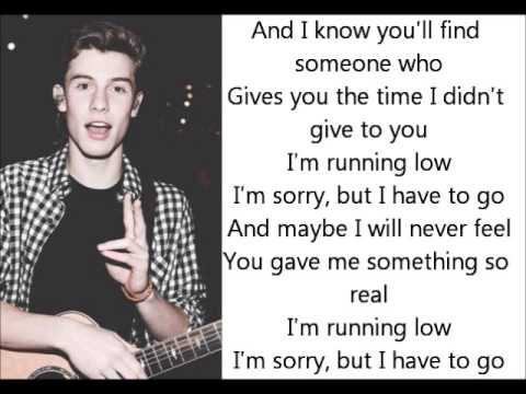 Shawn Mendes- Running Low Lyrics