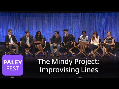The Mindy Project - Mindy Kaling and Ike Barinholtz on Improvisation