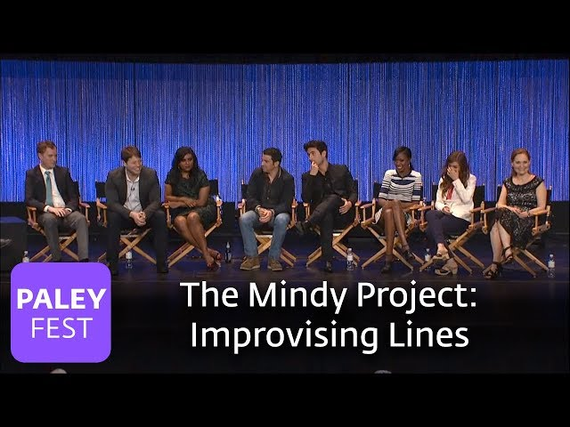 The Mindy Project - Mindy Kaling and Ike Barinholtz on Improvisation