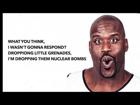 Shaq Diesel - Second Round Knockout Freestyle(Damian Dame D.O.L.L.A. Lillard Diss) (Video Lyrics)