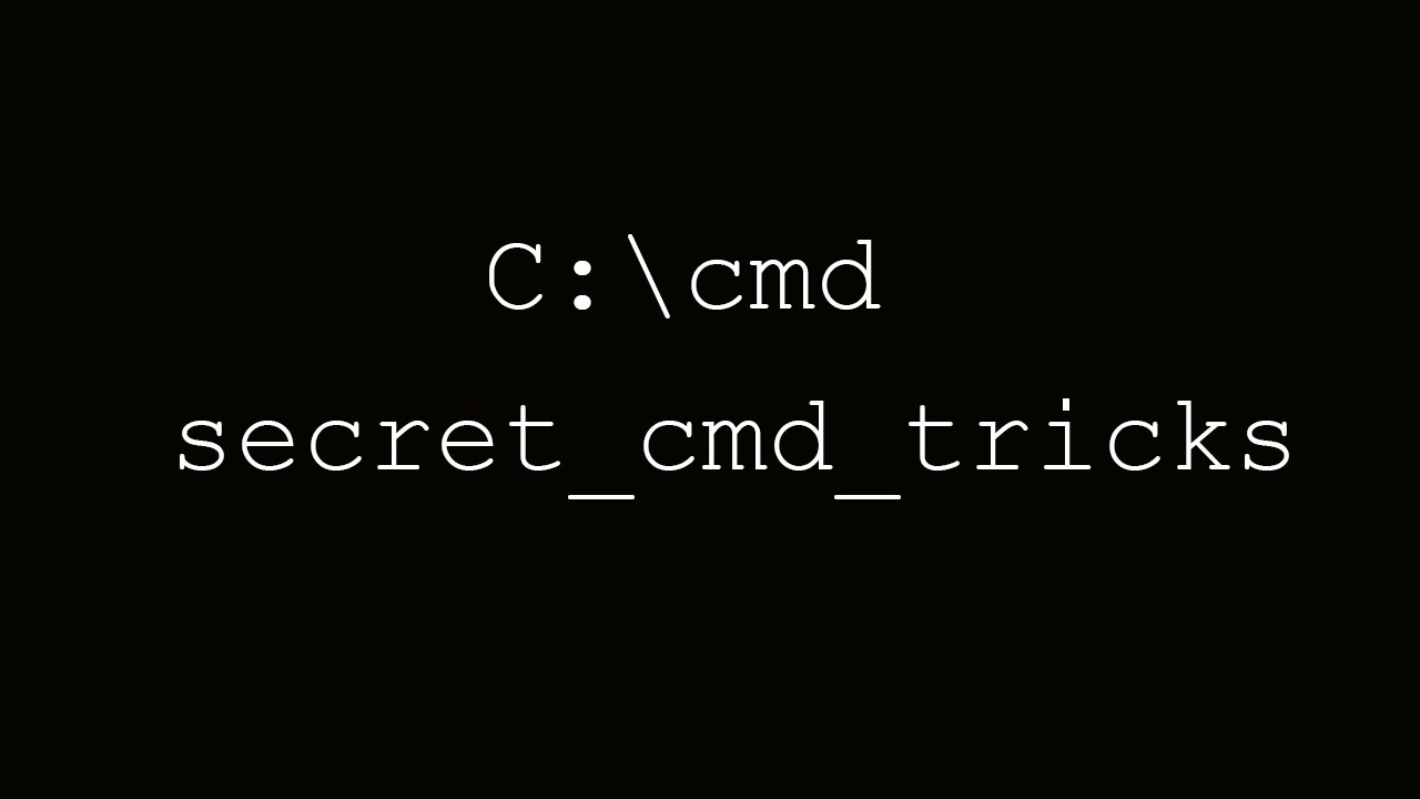 how to create virus using cmd