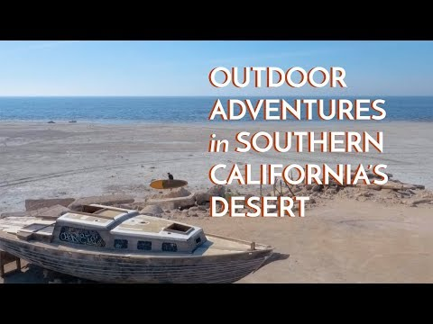 Outdoor Adventures in Southern California's Desert Region - Fountain of Youth Spa