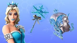 "New ""GLIMMER"" Elsa Skin UNLOCKED! Fortnite Item Shop Today (December 24)"
