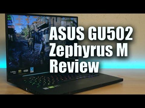 ASUS GU502GV Review • Zephyrus M 2019 • i7 9750h + RTX 2060