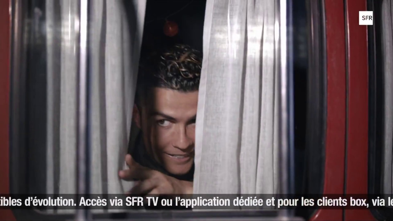 Publicite 2018 Sfr Rmc Sport Cristiano Ronaldo Youtube