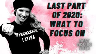 152 Days Left of 2020 - What to focus on