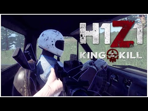 H1Z1 | Part 1 | FIRST RUN! (King of the Kill gameplay)