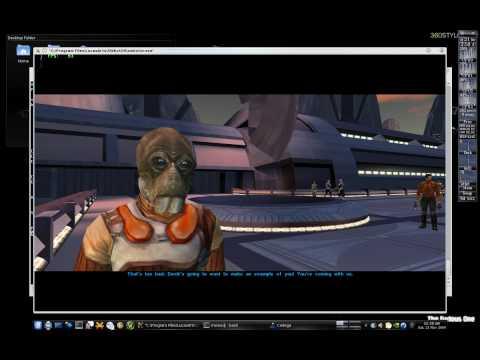 Star Wars: KOTOR Running On Linux (Gentoo) With Cedega (HD)