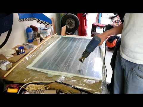 Heating DIY solar panel with EVA
