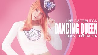 Gambar cover Dancing Queen - Girls' Generation (Line Distribution)
