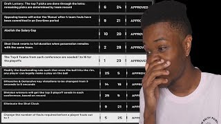 Accepting ALL The NBA Rule Changes in NBA 2K19