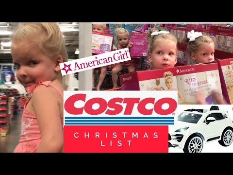 COSTCO CHRISTMAS TOYS-MAKING A LIST