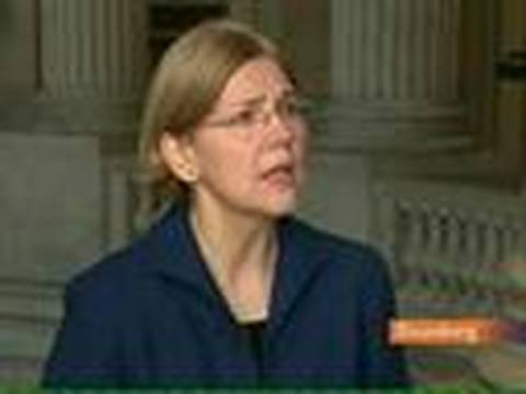 Warren Concerned Over `Implicit Guarantee' From TARP: Video
