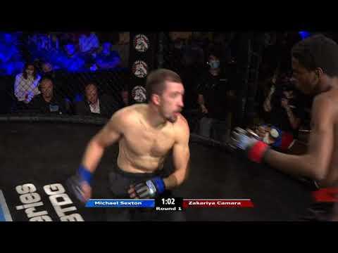 HRMMA 116 Fight 6 Zakariya Camara vs Michael Sexton 135 Ammy