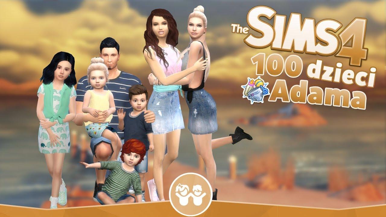 Download The Sims 4 Pl : Wyzwanie 100 dzieci Adama #111