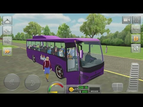 School Bus Driver 3D Simulator Android Gameplay #12