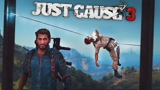 JUST CAUSE 3 FAILS: #1 (JC3 Funny Moments Compilation)