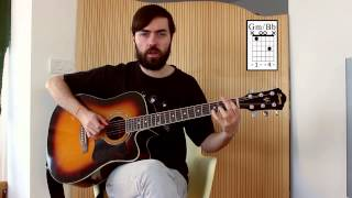 Como tocar - Tame Impala - Feels Like We Only Go Backwards - How to Play - Acoustic Guitar