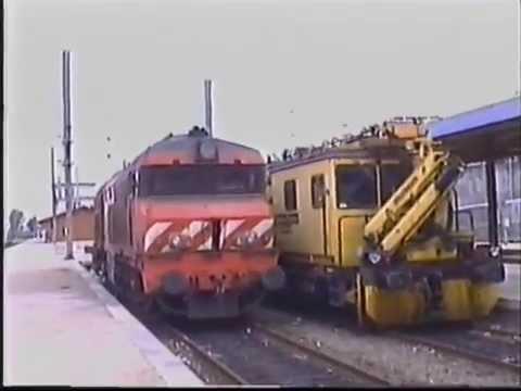 Comboios em Alfarelos - Granja do Ulmeiro - 26 Set 2003