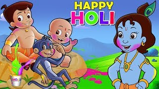 Download Chhota Bheem - Holi in Vrindavan | Holi Special Video Song 2019