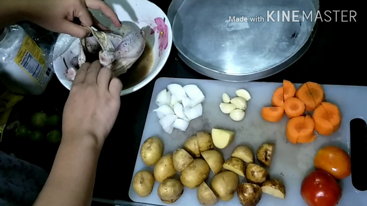 Roasted Chicken ala Kenny Rogers - YouTube