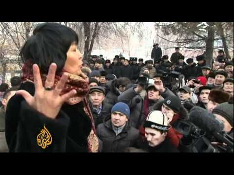 Kazakh opposition holds 'day of dissent'