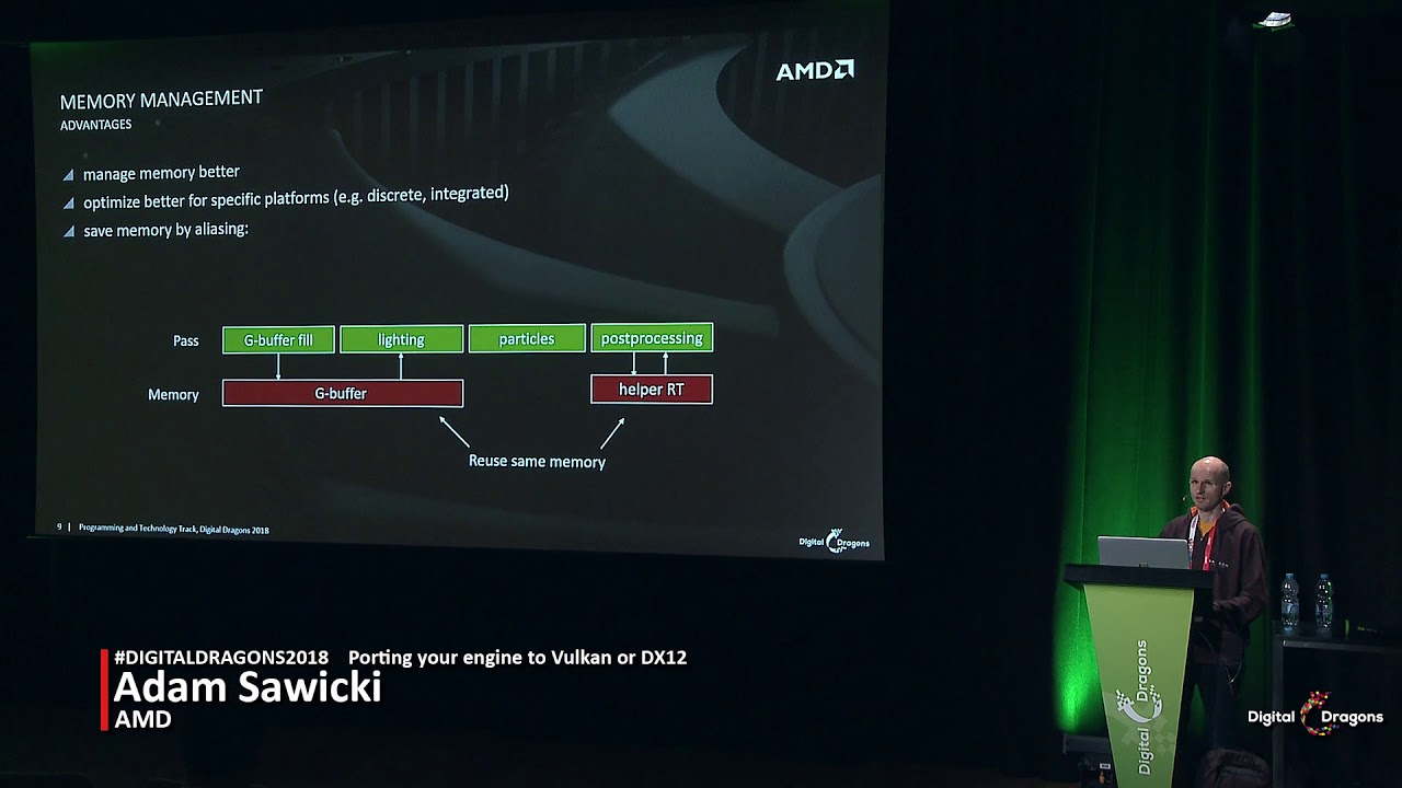 Porting your engine to Vulkan or DX12 - GPUOpen