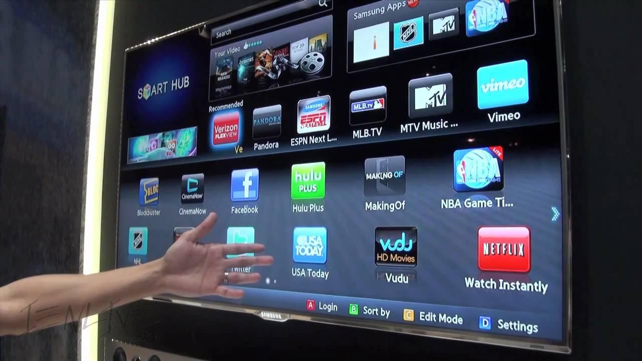 Samsung Smart Hub Einrichten