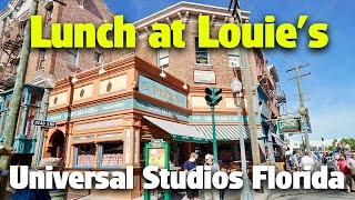 Lunch at Louie's | Universal Studios Florida