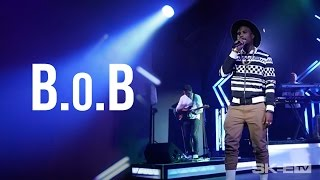 "B.o.B  ""Up"" and ""Not For Long"" LIVE on SKEE TV"