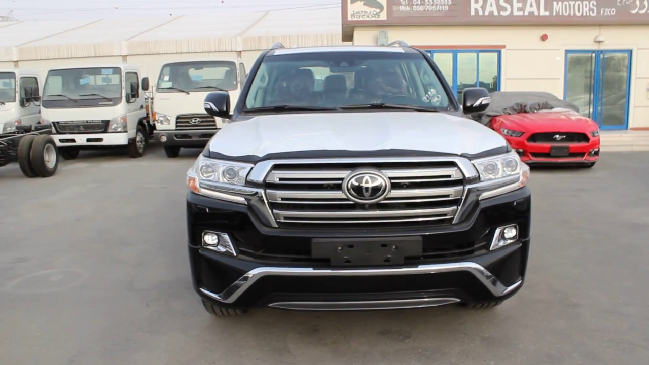 2018 Toyota Land Cruiser Lc200 5 7l Vxs V8 Limited Brown Interior