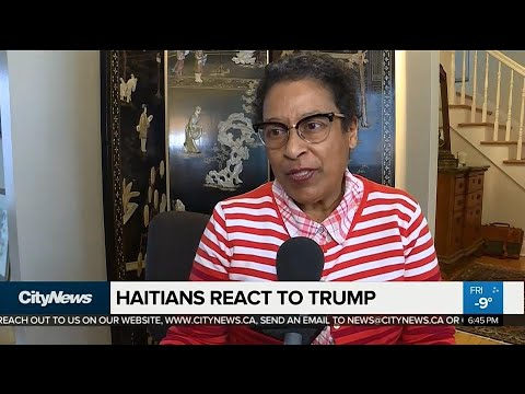 Haitians in Canada react after Trump's reported insults