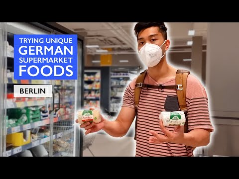 Download Eating UNIQUE German Grocery Foods from the German SUPERMARKET | Episode 2