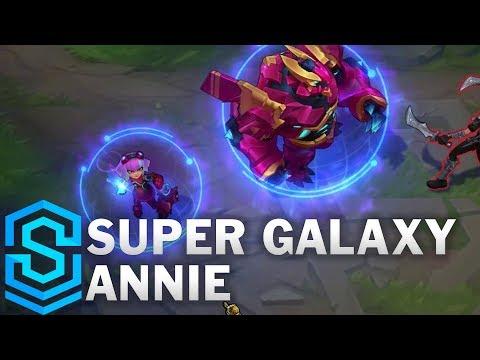 Super Galaxy Annie Skin Spotlight - Pre-Release - League of Legends