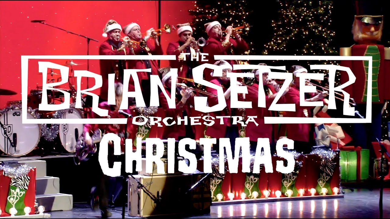 brian setzer orchestra christmas rocks youtube. Black Bedroom Furniture Sets. Home Design Ideas
