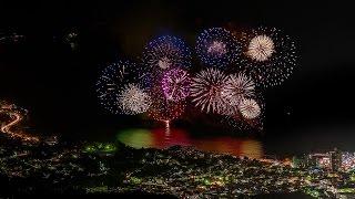 [ 2.5K WQHD ] 湯河原温泉海上花火大会 2015  Yugawara Onsen Beach Fireworks Festival  (HDR movie)