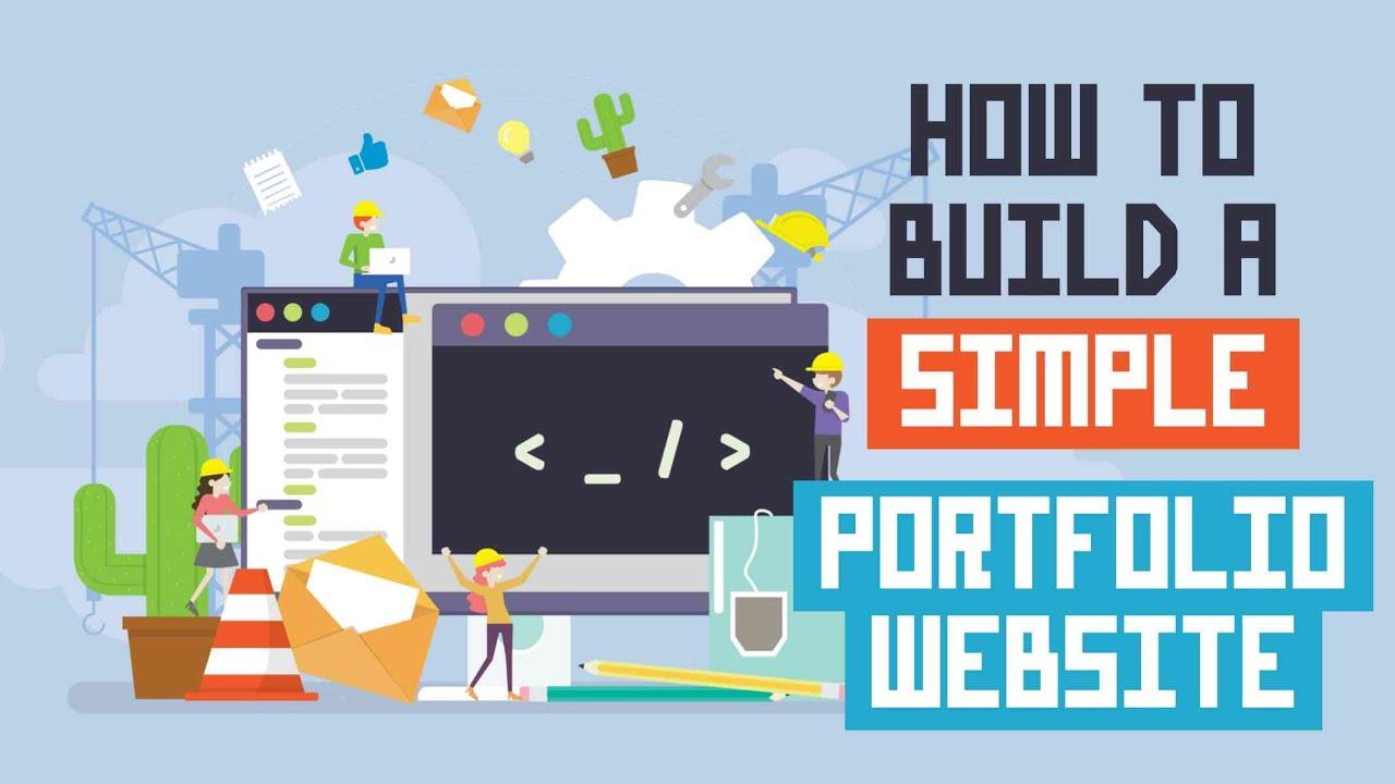 How to Build a Simple Portfolio Website for FREE