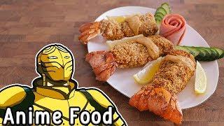 RICO 的二次元食物具現化主要是在把二次元的料理或是食物盡量的把它複製到現實的一個這個單元今天做的是#中華一番的李嚴炸鳳尾蝦...