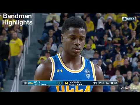Aaron Holiday UCLA vs Michigan/12.9.17/Highlights/27pts 7ast