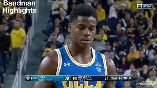 Aaron Holiday UCLA vs Michigan/12.9.17/Highlights/27pts 7ast