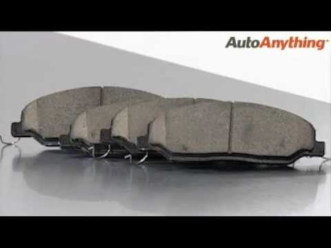 Posi Quiet Ceramic Brake Pads Review: AutoAnything Product Demo