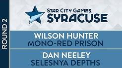 SCGNY: Round 2 - Wilson Hunter VS Dan Neeley [Legacy]