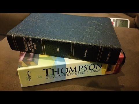 Thompson Chain Reference KJV Bible 536 Handy Size