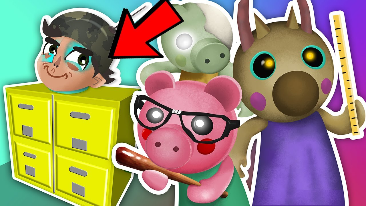 ROBLOX PIGGY.. except I'm a FILE CABINET | Roblox | Piggy Chapter 13