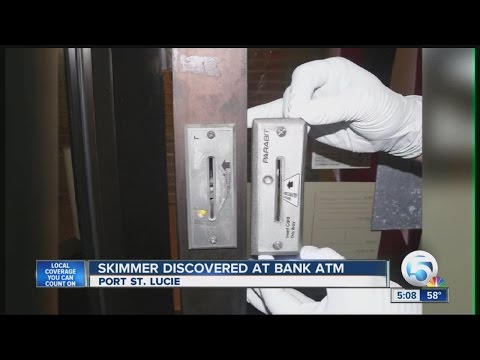 Skimmer discovered at Bank of America ATM in Port St. Lucie