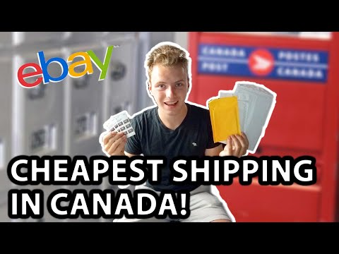 Cheapest Shipping For Canada Post (Part 2) | How To Ship With Canada Post (Ebay,ecomerce)