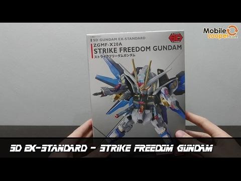 Gunpla Looper EP1 รีวิว SD EX-Standard Strike Freedom Gundam